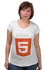 "Футболка для беременных ""HTML5"" - html5"