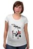 "Футболка для беременных ""Cute? "" - bear, стиль, медведь, панда, cute, мило, panda, панды, милота"