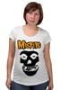 """Футболка для беременных """"Misfits """" - punk rock, misfits, панк, anarchy, анархия"""