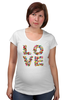 "Футболка для беременных ""LOVE "" - любовь, 14 февраля, valentine's day"