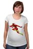 """Футболка для беременных """"Flash (Молния)"""" - flash, молния, вспышка, флэш"""
