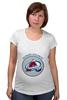 """Футболка для беременных """"Колорадо Эвеланш """" - хоккей, nhl, нхл, колорадо эвеланш, colorado avalanche"""