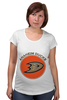 "Футболка для беременных ""Anaheim Ducks"" - спорт, хоккей, nhl, нхл, anaheim ducks"