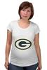 "Футболка для беременных ""Green Bay Packers"" - nfl, американский футбол, green bay packers, грин-бей пэкерс"
