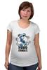 """Футболка для беременных """"Символ RoboComics """" - арт, робот, robots, робокомикс, robocomics"""