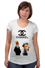 "Футболка для беременных ""Chanel"" - прикол, юмор, симпсоны, духи, бренд, fashion, коко шанель, brand, the simpsons, coco chanel"