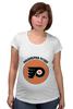 "Футболка для беременных ""Philadelphia Flyers"" - спорт, хоккей, nhl, нхл, филадельфия флайерз"