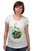 """Футболка для беременных """"Бабочка"""" - бабочка, лето, цветы, отдых, природа, путешествия, экзотика, тропики"""