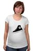 "Футболка для беременных ""Converse two"" - музыка, стиль, converse, путешествие, кеды"
