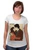 """Футболка для беременных """"Love / I'm Yours"""" - любовь, 14 февраля, поцелуй, вместе, день влюбленных"""