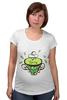 """Футболка для беременных """"Зеленый чай"""" - весна, spring, зеленый чай, green tea, весенний"""