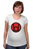 """Футболка для беременных """"красный фонарь"""" - comics, red, мультфильм, белый, красный, комиксы, кино, белая, мульт, dc"""