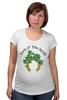"""Футболка для беременных """"Ирландская удача"""" - irish, luck, leprechaun, лепрекон"""