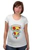"""Футболка для беременных """"Пицца Навсегда"""" - пицца, pizza, pizza forever"""