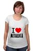 "Футболка для беременных ""«I love Metallica»"" - metallica, металлика, i love metallica"