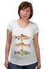 """Футболка для беременных """"Рыбки"""" - рыбы, рыбки, fish"""