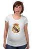 """Футболка для беременных """"""""Реал Мадрид"""""""" - футбол, цветная, real madrid, реал мадрид, football club, футбольный клуб"""