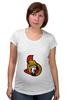 """Футболка для беременных """"Ottawa Senators"""" - хоккей, nhl, ottawa senators, канада, оттава"""