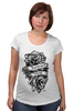 """Футболка для беременных """"Forever young """" - цветы, tattoo, тату, розы, roses, дотворк, tm kiseleva"""