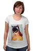 "Футболка для беременных ""EL BATGIRL"" - batwoman, бэтмэн, бэтгерл"
