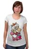 """Футболка для беременных """"Mario (Princess Peach)"""" - платье, марио, mario bros, принцесса пич"""