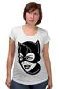 """Футболка для беременных """"Женщина-кошка (Catwoman)"""" - batman, catwoman, dc comics, бэтмен, женщина-кошка"""