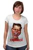"Футболка для беременных ""Comedy Club"" - юмор, карикатура, камеди клаб, comedy club, гарик бульдог харламов"