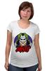 """Футболка для беременных """"Джокер (Joker)"""" - joker, джокер, dc"""
