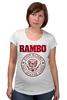 "Футболка для беременных ""Rambo"" - rocky, сильвестр сталлоне, rambo, sylvester stallone, рокки бальбоа"