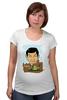 """Футболка для беременных """"Mr.Bean"""" - rowan atkinson, актёр, роуэн аткинсон, mr bean, мистер бин"""