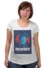 """Футболка для беременных """"Rocky / Рокки"""" - бокс, сталлоне, рокки, rocky, kinoart"""