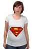 """Футболка для беременных """"Supergirl"""" - comics, superman, dc"""