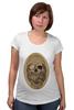"""Футболка для беременных """"с черепом"""" - skull, череп, скелет, с черепом, хипстер, пират, hipster, sailor, старый моряк"""