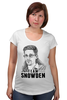 "Футболка для беременных ""Edward Snowden"" - америка, россия, цру, эдвард сноуден, edward snowden"