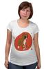 "Футболка для беременных ""Boxers puppy"" - dog, щенок, боксёр, boxer"