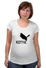 """Футболка для беременных """"Котик"""" - кот, спорт, женщина-кошка, puma, kotya"""