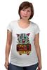 """Футболка для беременных """"кот суши"""" - кот, cat, суши, япония"""