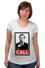 """Футболка для беременных """"Лучше звоните Солу (Better Call Saul)"""" - obey, call, better call saul, лучше звоните солу"""