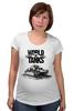 """Футболка для беременных """"World of Tanks"""" - игра, game, world of tanks, танки, wot"""