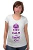"""Футболка для беременных """"Keep calm"""" - swag, keep calm"""