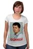 "Футболка для беременных ""Comedy Club"" - шоу, comedy club, гарик бульдог харламов, гарик харламов, телешоу"