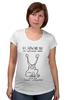 "Футболка для беременных ""Daniel Johnson album t-shirt"" - nirvana, рок, kurt cobain, курт кобейн, нирвана"