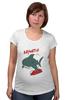 "Футболка для беременных ""Акула (Baywatch)"" - акула, спасатели малибу, baywatch"