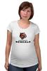 """Футболка для беременных """"Cincinnati Bengals"""" - тигр, nfl, американский футбол, cincinnati bengals"""