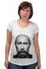 """Футболка для беременных """"Путин с бородой"""" - путин, борода, putin"""