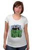 """Футболка для беременных """"Популярная панк-группа """"Green Day"""""""" - музыка, группа, green, панк, green day, панк-рок, зеленый день, green day общая"""