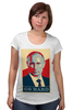 "Футболка для беременных ""Go Hard Like Vladimir Putin"" - путин, президент, putin, go hard"