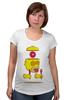"Футболка для беременных ""Гомер Симпсон (Homer Simpson)"" - гомер симпсон, пончик, the simpsons, donut"