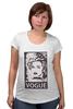 """Футболка для беременных """"Мадонна (Vogue)"""" - madonna, мадонна, вог, vogue"""