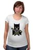 """Футболка для беременных """"Бэтмен (Batman)"""" - batman, бэтмен, бетмен"""